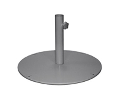 "Emuamericas 923 24"" Round Shade Umbrella Base - 55-lb, Steel, Iron"