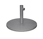 "EmuAmericas 925 24"" Round Shade Umbrella Base - 105-lb, Steel, Iron"