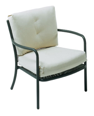 Emuamericas 3416 Podio Lounge Armchair, Mesh, Tubular Frame, Bronze