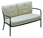 emu 3417 AIRON Podio Lounge Love Seat, Steel M