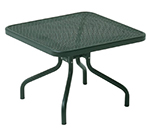 emu 3419 Podio Low Side Table, Mesh Top, Tubular Frame, Bronze