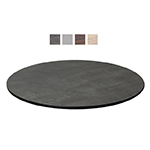 "emu GA0024 24"" ALF Round Table Top - Indoor/Outdoor, Melamine Resin, Metal Brushed"