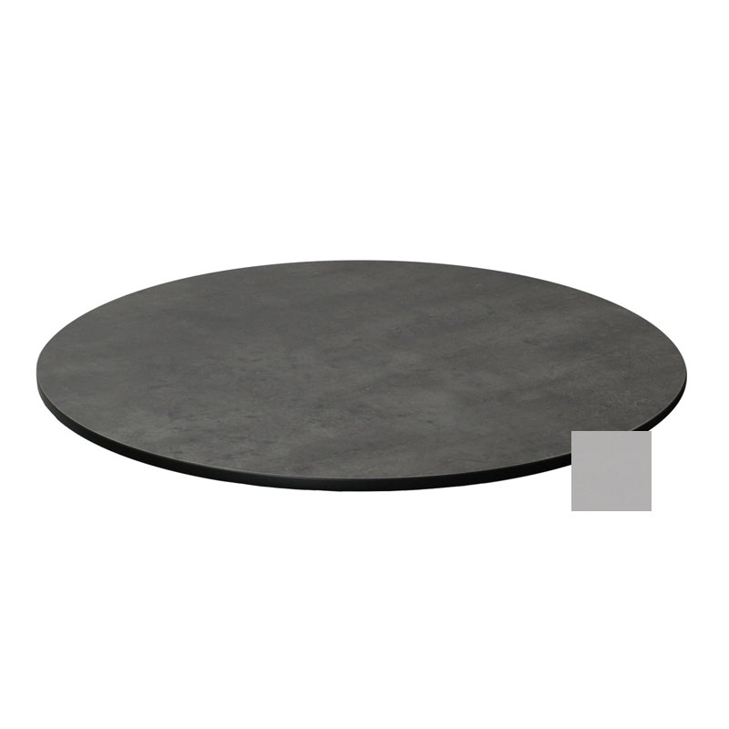 "emu GA0032 32"" ALF Round Table Top - Indoor/Outdoor, Melamine Resin, Metal Brushed"