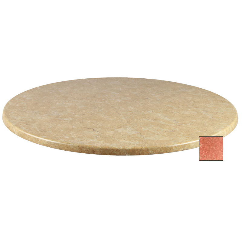 emu W0024 101 Joe Table Top, 24 in Diameter, Arizona Laminate
