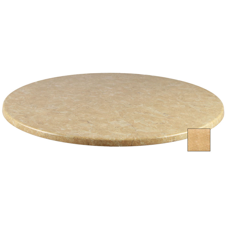 "emu W0028 28"" Joe Round Table Top - Indoor/Outdoor, Molded Laminate, Colorado"