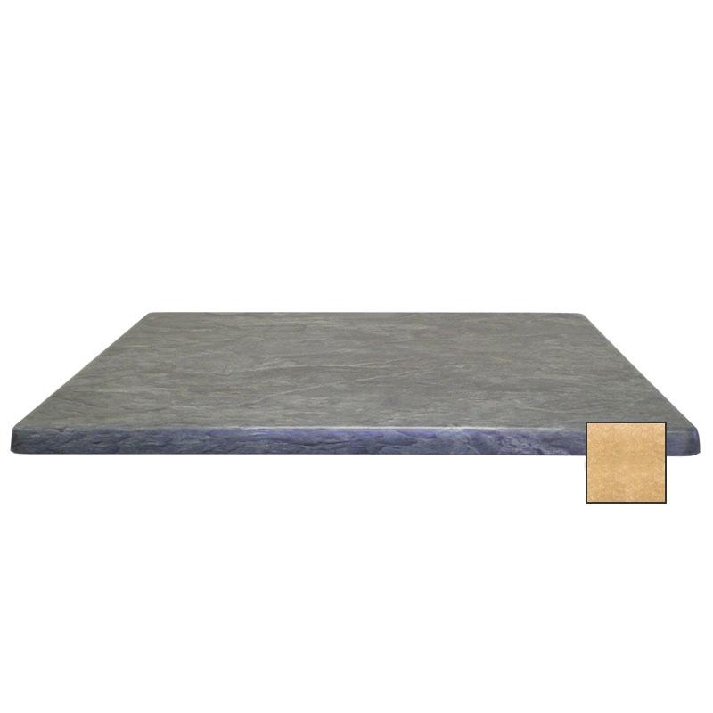 """emu W2424 24"""" Joe Square Table Top - Indoor/Outdoor, Molded Laminate, Colorado"""
