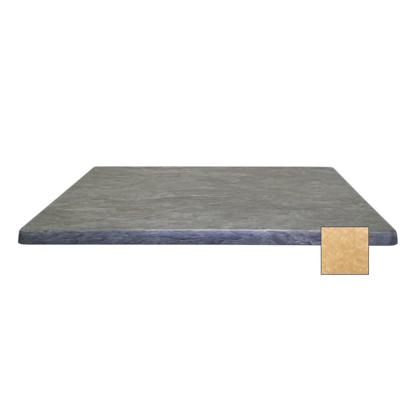 "emu W2828 28"" Joe Square Table Top - Indoor/Outdoor, Molded Laminate, Colorado"
