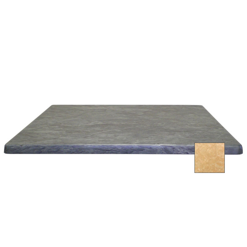 "emu W3232 32"" Joe Square Table Top - Indoor/Outdoor, Molded Laminate, Colorado"