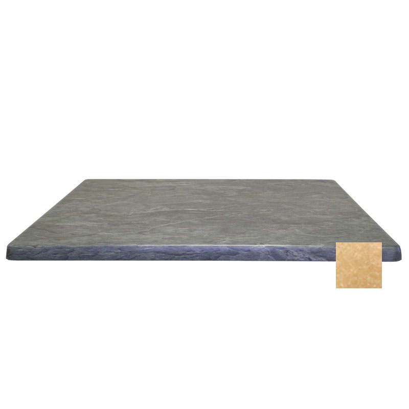 "emu W3636 36"" Joe Square Table Top - Indoor/Outdoor, Molded Laminate, Colorado"