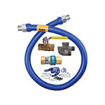 "Dormont 1650KIT36 36"" Gas Connector Kit w/ 1/2"" Male/Male Couplings"