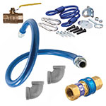 "Dormont 1675KIT48 48"" Gas Connector Kit w/ 3/4"" Male/Male Couplings"