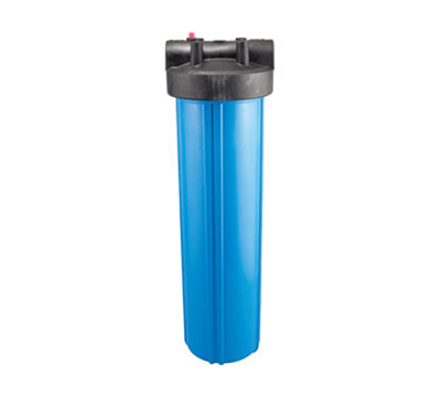 Dormont HSR-20BHS 20-in Big Blue Filter Housing w/ Lid, 100-F & 90-PSI, Polypropylene