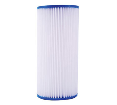 "Dormont HSR-BS-SED-20MP 10"" Big Blue Pleated Sediment Filter w/ 20-Micron"