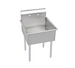 Elkay B1C24X24X Budget Sink w/ 24x24x12-in Bowl & 9-in Splash
