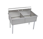 "Elkay B2C18X21X 39"" 2-Compartment Sink w/ 18""L x 21""W Bowl, 12"" Deep"