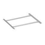 "Elkay RS-20 Rack Slide, 20x20"", Stainless"