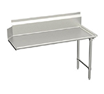 "Elkay CDT-48-RX L-R Straight Clean Dishtable w/ 10"" Splash, 30x48"""