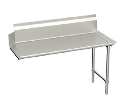 Elkay CDT-60-RX L-R Straight Clean Dishtable w/ 10-in Splash, 30x60-in