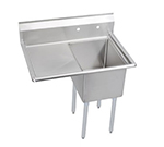 "Elkay 14-1C18X24-L-18X 38.5"" 1-Compartment Sink w/ 18""L x 24""W Bowl, 14"" Deep"