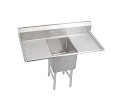 "Elkay S1C18X18-2-18X 54"" 1-Compartment Sink w/ 18""L x 18""W Bowl, 14"" Deep"