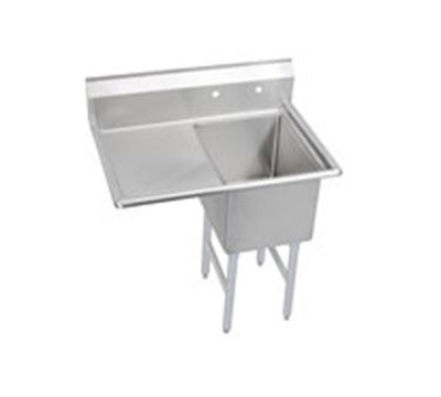 "Elkay 1C18X24-L-24X 44.5"" 1-Compartment Sink w/ 18""L x 24""W Bowl, 12"" Deep"