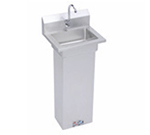 Elkay EHS-18-PEDX Pedestal Economy Hand Sink w/ 14x10x5-in Bowl & Faucet, Foot Valve