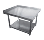 Elkay SES30S60-STGX Equipment Stand w/ Adjustable Galvanized Undershelf, 30x60x24-in