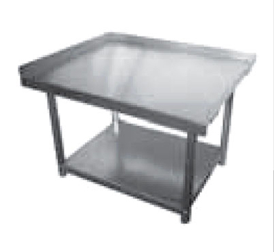 Elkay SES30S48-STGX Equipment Stand w/ Adjustable Galvanized Undershelf, 30x48x24""