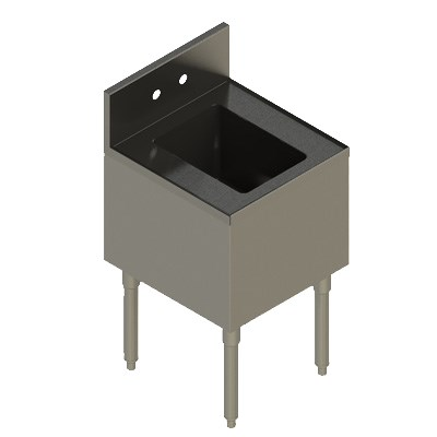 Elkay UB-HS18X19X 1-Compartment Underbar Hand Sink - 18 x...