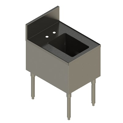 Elkay UB-HS18X24X 1-Compartment Underbar Hand Sink - 18 x...
