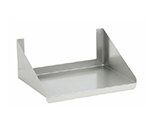 "Elkay WMMS-24-24X Microwave Shelf, 24x24x10"", Stainless"