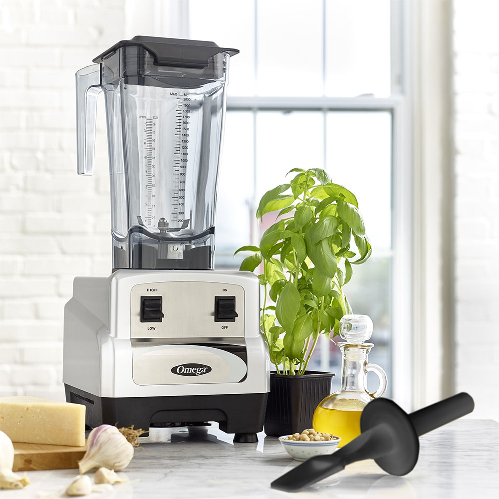 Omega BL420S Countertop Food Blender w/ Polycarbonate Container