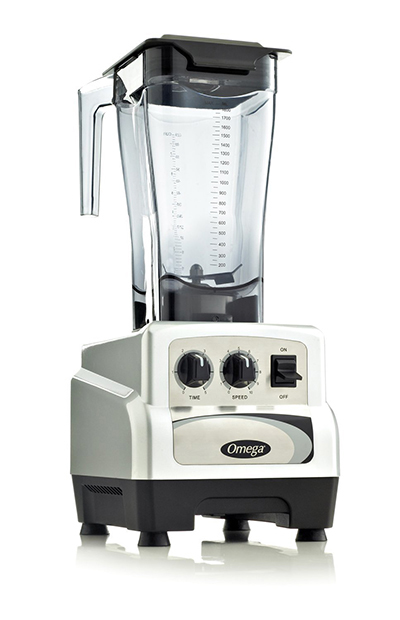 Omega BL480S Commercial Blender - On/Off, Timer, 64-oz, Variable 3-hp