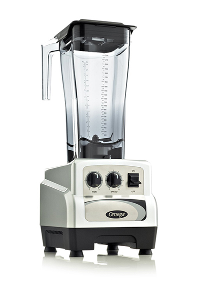Omega BL490S Commercial Blender - On/Off, Timer, 82-oz, Variable 3-hp