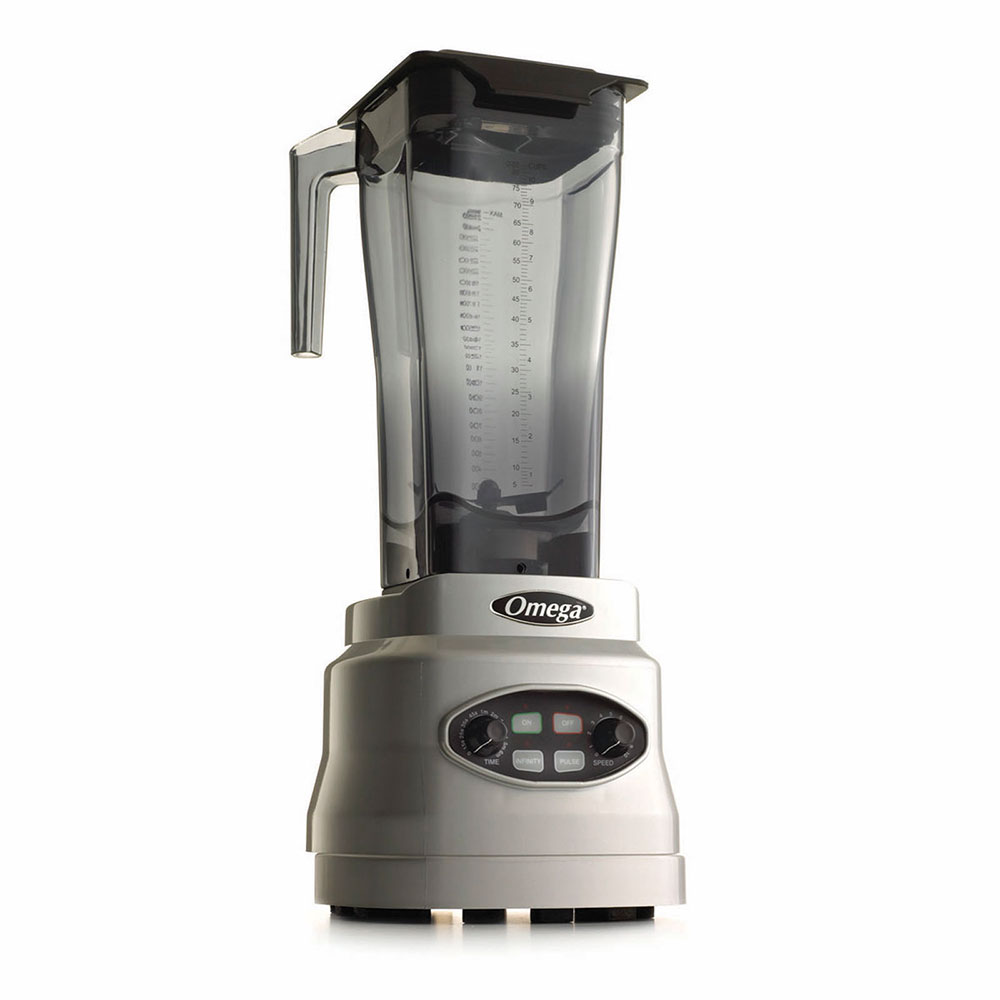 Omega BL660S Countertop Food Blender w/ Polycarbonate Container