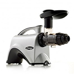 Omega NC800HD Commercial Juicer - 6th Gen, Masticating, Silver