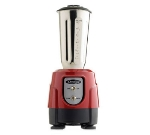 Omega BL360R 32-oz Blender w/ Toggle Control, Stainless Steel Container, Red