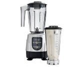Omega BL390S Blender Combo Set, (1) 48-oz Copolyester & (1) 32-oz Stainless, Silver