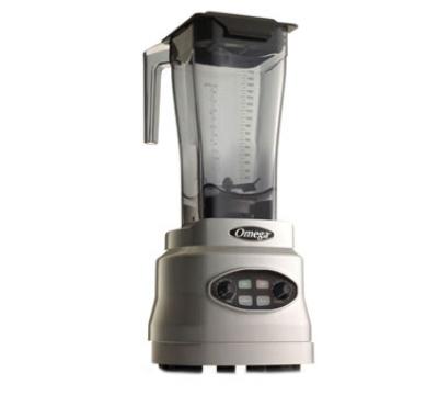 Omega BL630S 64-oz Blender w/ Push Button, BPA-Free Tritan Copolyester, Silver