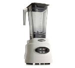 Omega BL630W 64-oz Blender w/ Push Button, BPA-Free Tritan Copolyester, White