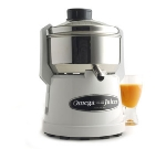 Omega J9000 Centrifugal Juicer w/ Heavy Duty Blade, Stainless Steel Cover, White
