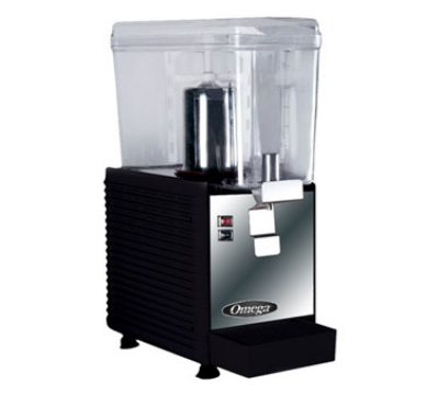 Omega OSD10 3-Gallon Drink Dispenser w/ Continuous Rotary System, 300 Watts