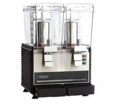 omega osd20 drink dispenser w continuous rotary system 2 3gallon 420 watts - Drink Dispensers
