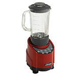 Omega SLK100GR Blender - 43-oz Glass Container, Red, 1-hp