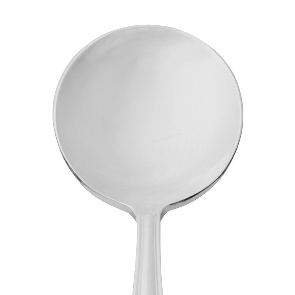 World Tableware 039016 Silverplated Bouillon Spoon, Antique World Collection