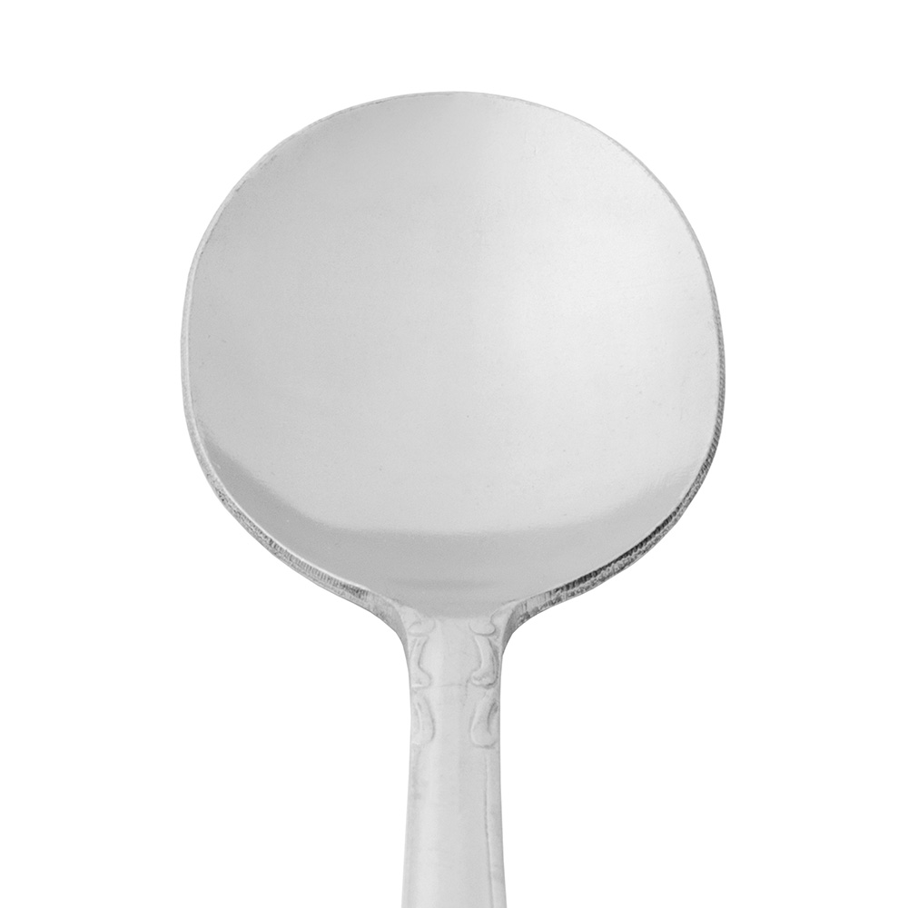 World Tableware 134016 Bouillon Spoon, 18/0-Stainless, Heavy Weight, Linda Brandware Collection