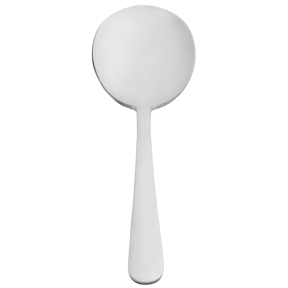 World Tableware 141004 Round Soup Spoon, 18/0-Stainless, Heavy Weight, Windsor Brandware Collection