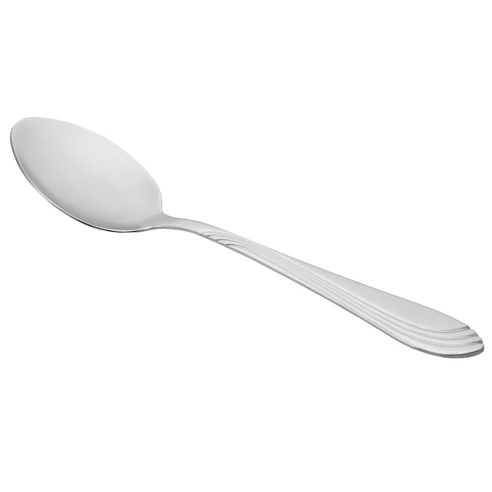 World Tableware 148002 Dessert Spoon, 18/0-Stainless, Heavy Weight, Riva Brandware Collection