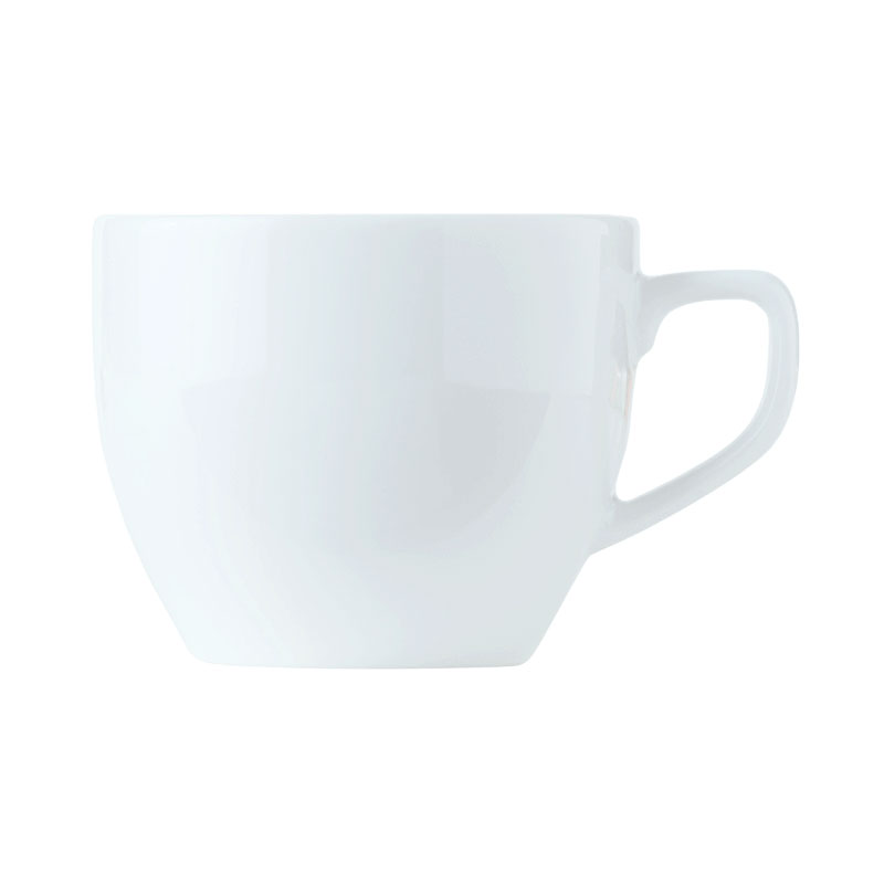 World Tableware 150230230 8-3/4-oz Empire Porcelain Cup - Bright White