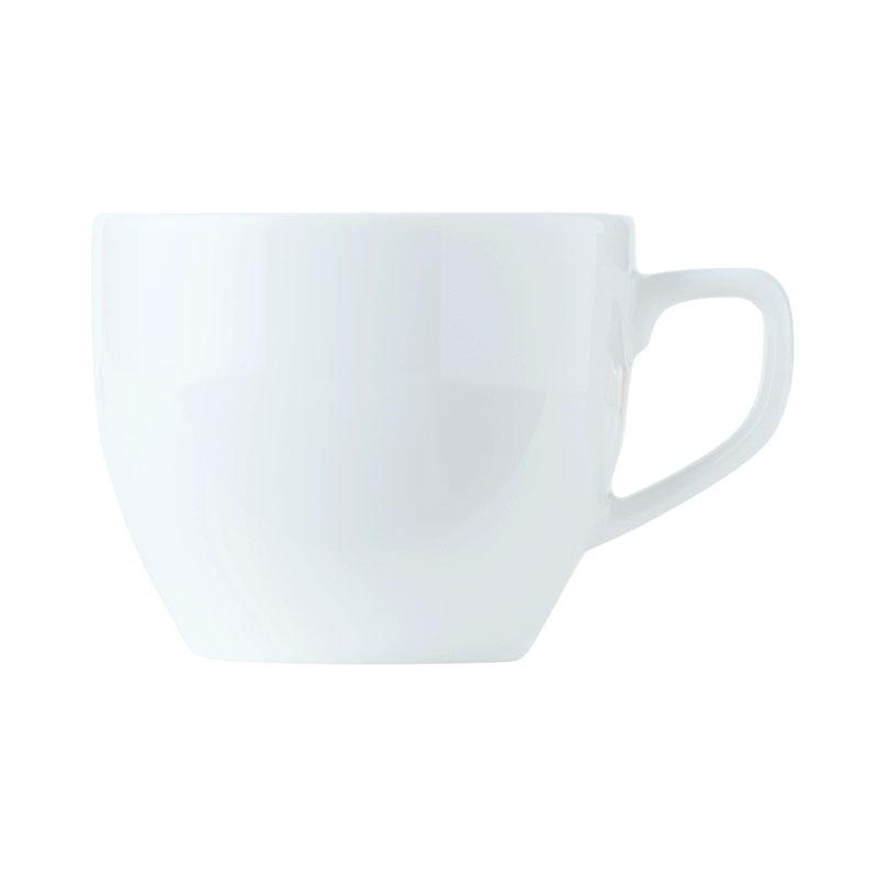 World Tableware 150230230 8-3/4-oz Empire Porcelain Cup - Bright White